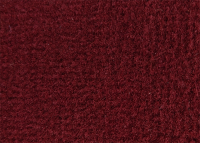Dark Red Plush Carpet